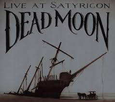 DEAD MOON-LIVE AT SATYRICON LP EX COVER VG