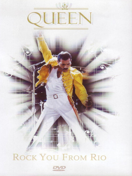 QUEEN-ROCK YOU FROM RIO DVD VG