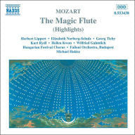 MOZART-THE MAGIC FLUTE HIGHLIGHTS HALASZ CD *NEW*