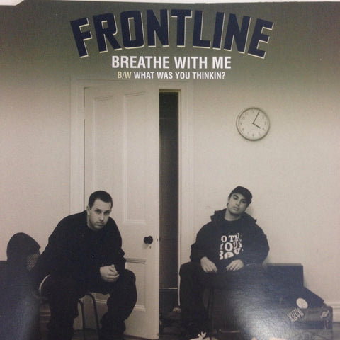 FRONTLINE-BREATHE WITH ME CD SINGLE VG