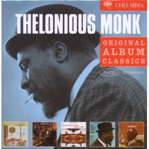 MONK THELONIOUS-ORIGINAL ALBUM CLASSIC 5CD VG+