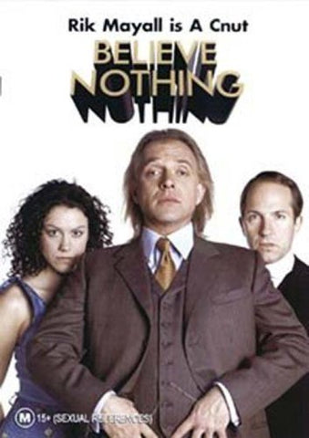 BELIEVE NOTHING DVD VG