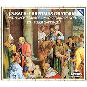 BACH-CHRISTMAS ORATORIO GARDINER 2CD VG