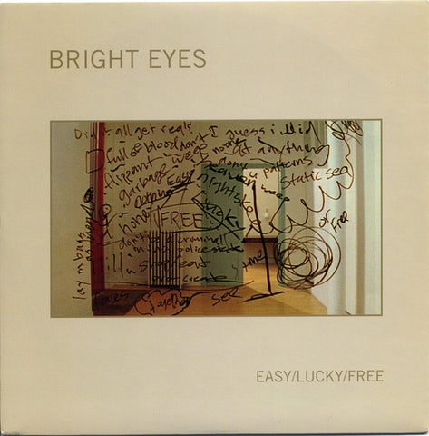 BRIGHT EYES-EASY/LUCKY/FREE 7'' EX COVER VG