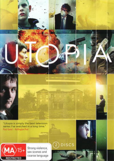 UTOPIA SEASON 1 2DVD VG