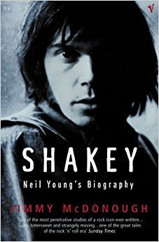 YOUNG NEIL-NEIL YOUNG SHAKEY BOOK VG