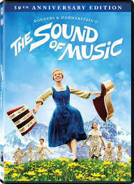 SOUND OF MUSIC THE DVD VG+