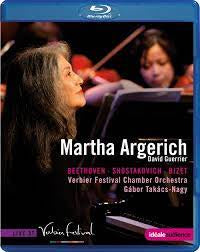 ARGERICH MARTHA-BEETHOVEN BLURAY *NEW*