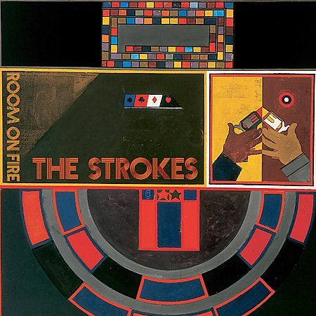 STROKES THE-ROOM ON FIRE CD VG