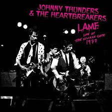THUNDERS JOHNNY & THE HEARTBREAKERS-L.A.M.F. LIVE AT THE VILLAGE GATE 1977 WHITE VINYL LP *NEW*