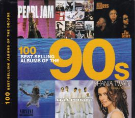 100 BEST-SELLING ALBUMS OF THE 90S BOOK VG