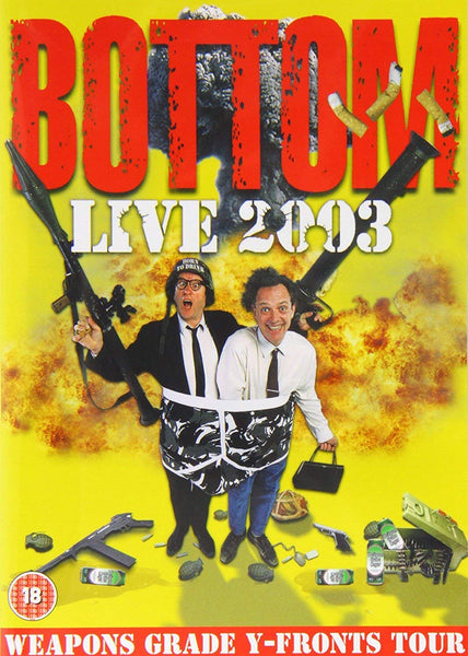 BOTTOM-LIVE 2003 WEAPONS GRADE Y-FRONTS TOUR DVD VG