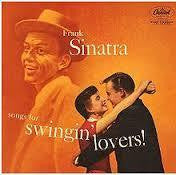 SINATRA FRANK-SONGS FOR SWINGIN' LOVERS LP VG COVER G