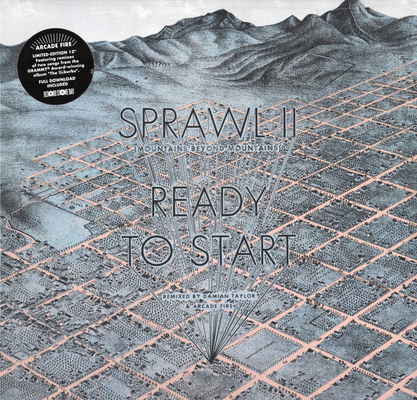 "ARCADE FIRE-SPRAWL II / READY TO START 12"" LP *NEW*"