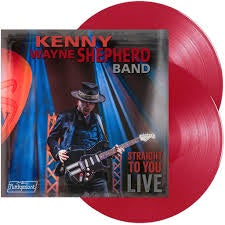 SHEPHERD KENNY WAYNE BAND-STRAIGHT TO YOU LIVE RED VINYL 2LP *NEW*
