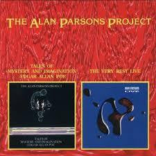 PARSONS ALAN PROJECT-TALES OF MYSTERY/ VERY BEST LIVE CD VG