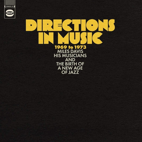DIRECTIONS IN MUSIC 1969 TO 1973-VARIOUS ARTISTS 2LP *NEW*
