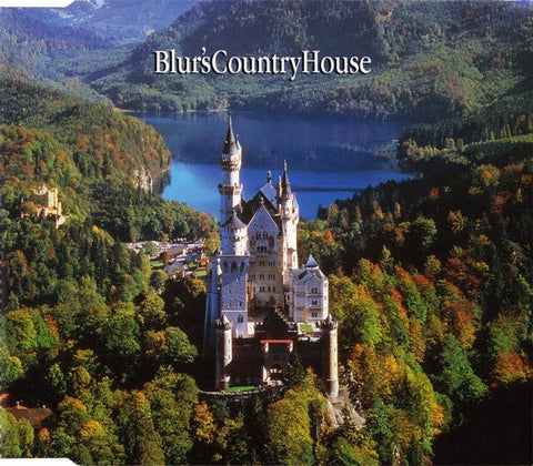 BLUR-BLUR'S COUNTRY HOUSE CD SINGLE VG