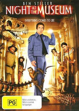 NIGHT AT THE MUSEUM DVD VG