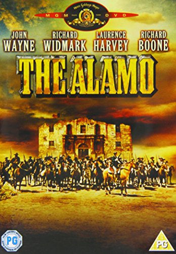 ALAMO THE REGION 2 DVD VG