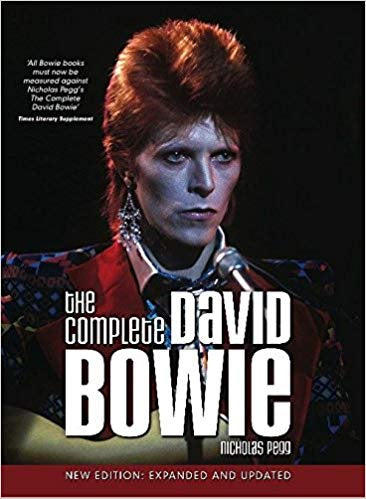 BOWIE DAVID-THE COMPLETE DAVID BOWIE NICHOLAS PEGG BOOK VG+