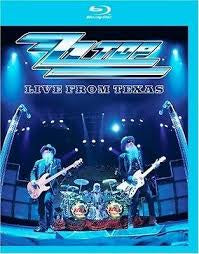 ZZ TOP-LIVE FROM TEXAS BLURAY VG