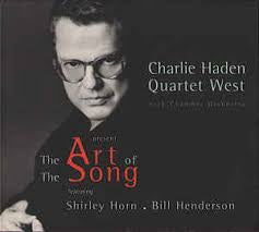 HADEN CHARLIE QUARTET WEST-THE ART OF THE SONG CD VG+