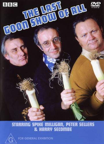THE LAST GOON SHOW OF ALL DVD G