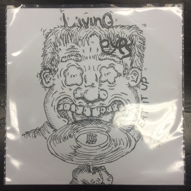 LIVING EYES THE-EAT IT UP 7 INCH *NEW*