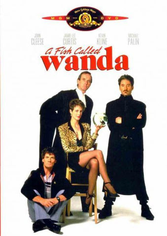 A FISH CALLED WANDA DVD VG