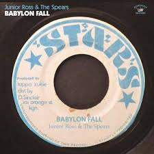 ROSS JUNIOR & THE SPEARS-BABYLON FALL LP *NEW*