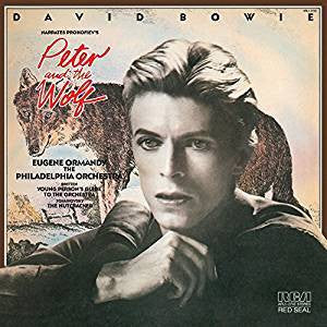 BOWIE DAVID-PETER & THE WOLF LP NM COVER VG+