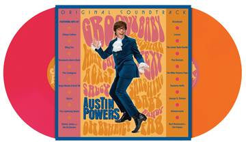 AUSTIN POWERS: INTERNATIONAL MAN OF MYSTERY OST-VARIOUS ARTISTS PINK/ ORANGE VINYL 2LP *NEW*