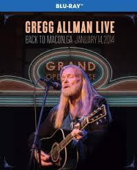 ALLMAN GREG-LIVE BACK TO MACON, GA JANUARY 14, 2014 BLURAY *NEW*