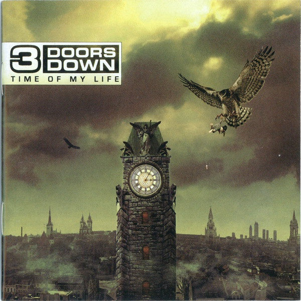 3 DOORS DOWN-TIME OF MY LIFE CD VG