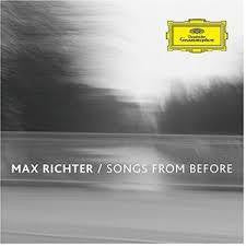 RICHTER MAX-SONGS FROM BEFORE CD *NEW*