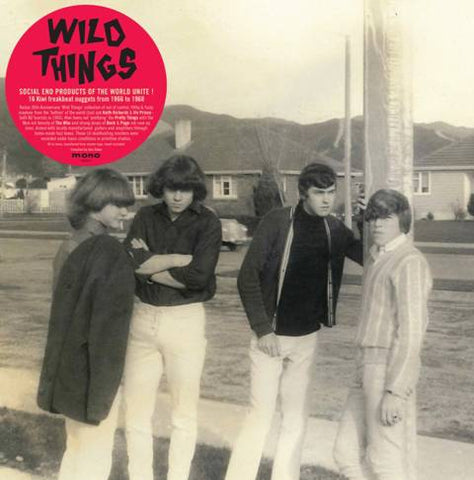 WILD THINGS NEW ZEALAND FREAKBEAT 1966 TO 1968-VARIOUS ARTISTS LP *NEW*