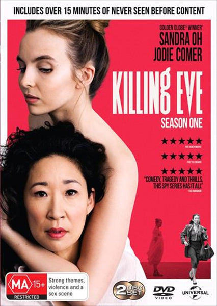 KILLING EVE 2DVD VG