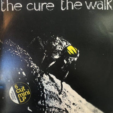CURE THE-THE WALK MINI LP VG+ COVER VG