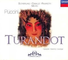 PUCCINI - TURANDOT HIGHLIGHTS CD G