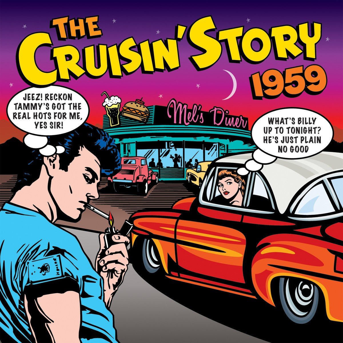 CRUISIN STORY 1959-VARIOUS ARTISTS 2CD *NEW*