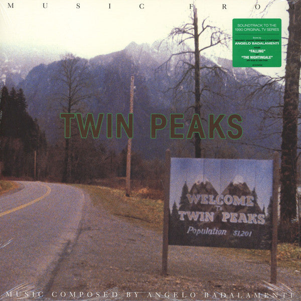 BADALAMENTI ANGELO-MUSIC FROM TWIN PEAKS OST GREEN VINYL LP *NEW*