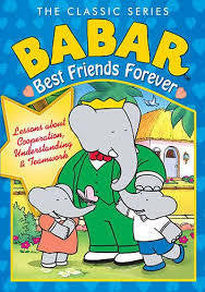 BABAR-BEST FRIENDS FOREVER DVD *NEW*