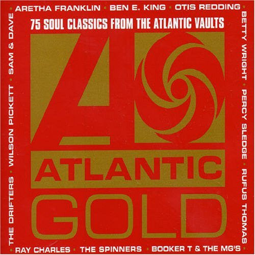 ATLANTIC GOLD-VARIOUS ARTISTS 3CD VG