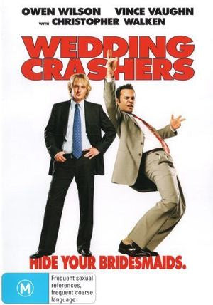 WEDDING CRASHERS DVD VG