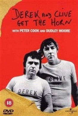 DEREK AND CLIVE GET THE HORN DVD REGION 2 VG