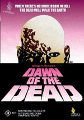 DAWN OF THE DEAD DVD VG+