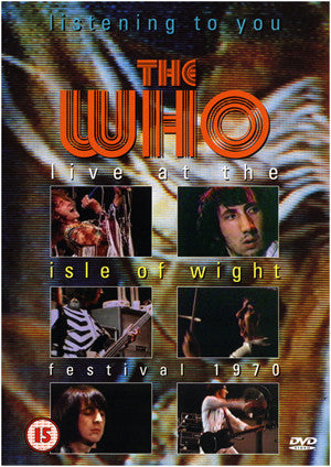 WHO THE-LISTENING TO YOU LIVE AT THE ISLE OF WIGHT FESTIVAL DVD G