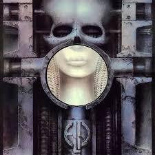 EMERSON LAKE & PALMER-BRAIN SALAD SURGERY LP VG+ COVER VG