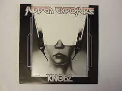 KNOBZ THE-SUDDEN EXPOSURE LP VG+ COVER VG